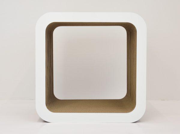 Modular white furniture box