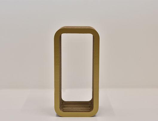 Cardboard Organizer Gold